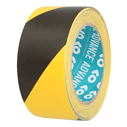 <p>Floor marking tape in black / yellow 50mm x 33m</p> Text: Floor marking tape black / yellow