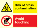 dual-sign-biohazard-triangle-and-do-not-touch-prohibitionnbspcircle~