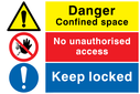 composite-safety-sign-with-general-warning-symbol-no-access-prohibiton-symbol-an~