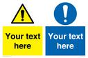 dual-custom-mandatory-sign-with-general-warning-and-general-mandatory-symbol~