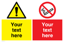 custom-no-smoking--warning-combination-sign-~