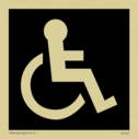 disabled toilet symbol in negative black Text: None