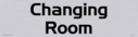 architectural---changing-room-door-sign-with-brushed-metal-finish--background-te~