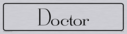 architectural---doctor-door-sign-with-brushed-metal-finish--background-text-in-p~