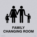 Family changing symbol in positive black Text: none