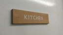 kitchen--3-layered-sign-on-cherrynbsplaserwood-with-a-white-core-and-cherry-back~