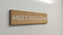 meeting-room--3-layered-sign-on-cherrynbsplaserwood-with-a-white-core-and-cherry~