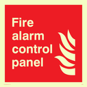flames Text: Fire alarm contol panel