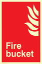 flames Text: fire bucket