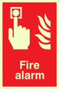 flames Text: fire alarm