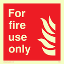 flames Text: for fire use only