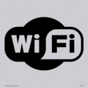 WiFi symbol in black  Text: WiFi