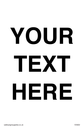 pthis-sign-is-a-custom-blank-information-sign-this-contains-no-symbols-fill-the-~
