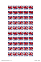 <p>Made in UK stickerson a sheet</p> Text: Made in UK