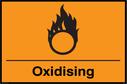 Oxidising symbol Text: Oxidising