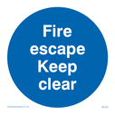 fire-escape-keep-clear-sign-~