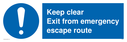 pkeep-clear-exit-from-emergency-escape-route-withnbspexclamation-in-blue-circlep~