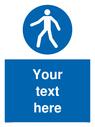 custom-pedestrian-only-sign-~