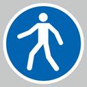 pedestrians-onlynbspsymbolnbspfloor-graphics~