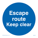 escape-route-keep-clear-in-blue-circle~
