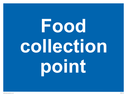 <p>Food collection point</p> Text: