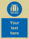 pcustom-mandatory-hi-vis-vest-sign-with-hi-vis-vest-must-be-worn-symbol---high-v~
