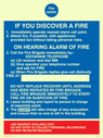 fire action Text: Fire action IF YOU DISCOVER A FIRE 1.  Immediately operate nearest alarm call point. 2. Attack fire, if possible, with appliances provided but without taking personal risks ON HEARING ALARM OF FIRE 3. Call the Fire Brigade immediately by:- EXCHANGE TELEPHONE (a) Lift receiver and dial 999 (b) Give operator your telephone number and ask for FIRE (c) When Fire Brigade replies give call distinctly FIRE AT DO NOT REPLACE RECEIVER UNTIL ADDRESS HAS BEEN REPEATED BY FIRE BRIGADE. CALL FIRE BRIGADE IMMEDIATELY TO EVERY FIRE OR ON SUSPICION OF FIRE. 4. Leave building and report to person in charge of assembly point. 5. The STAFF will take charge of any evacuation and ensure that no one is left in the building. USE NEAREST AVAILABLE EXIT. DO NOT STOP TO COLLECT PERSONAL BELONGINGS DO NOT RE-ENTER BUILDING