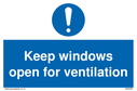 keep-windows-open-for-ventilation-sign-~