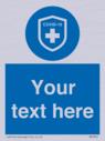custom-mandatory-covid19-virus-immunity-symbol-blue-background--white-text~