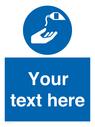 <p>Custom Use barrier cream</p> Text: