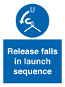 <p>Release falls in launch sequence</p> Text: