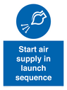 <p>Start air supply in launch sequence</p> Text: