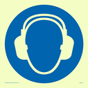ear protection symbol Text: None