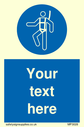 custom-mandatory-safety-harness-sign-with-safety-harness-must-be-worn-symbol--sa~