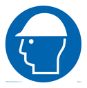 hard hat symbol Text: hard hat symbol only