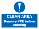 clean-area-remove-ppe-before-entering-sign-~