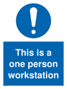 pthis-is-a-one-person-workstation-sign-p~