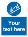 <p>Custom Keep distance between toboggans</p> Text: