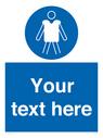 <p>Custom mandatory wear personal flotation devices</p> Text: