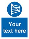 <p>Custom mandatory gate</p> Text: