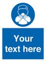 <p>Custom mandatory use a tissue</p> Text: