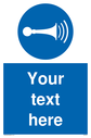 custom-horn-sign-add-your-own-custom-text-normal-delivery-times-apply-blue-horn-~