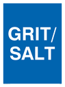 <p>GRIT/SALT</p> Text: