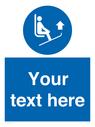 <p>Custom Lift ski tips</p> Text: