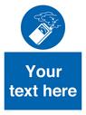 <p>Custom use gas detector</p> Text: