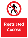 <p>Restricted Access</p> Text:
