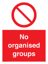 <p>No organised groups</p> Text: