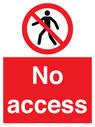 <p>No access</p> Text: