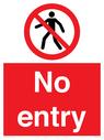 <p>No entry</p> Text: