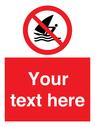 <p>No Windsurfing</p> Text: